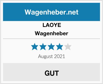 LAOYE Wagenheber Test