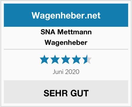 SNA Mettmann Wagenheber Test