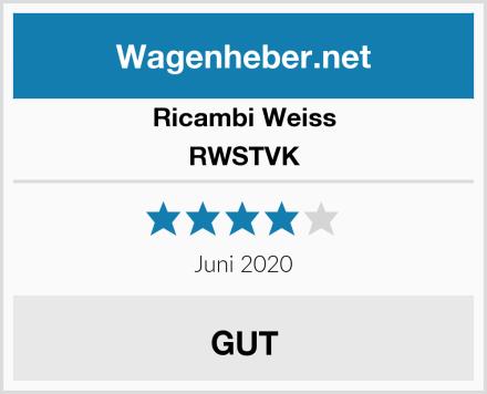 Ricambi Weiss RWSTVK Test