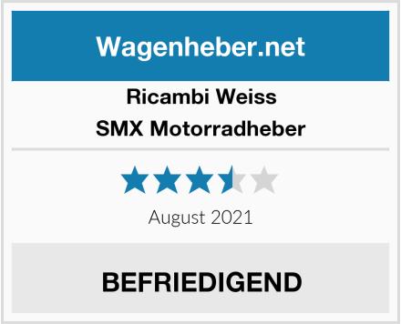 Ricambi Weiss SMX Motorradheber Test