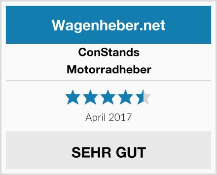 ConStands Motorradheber Test