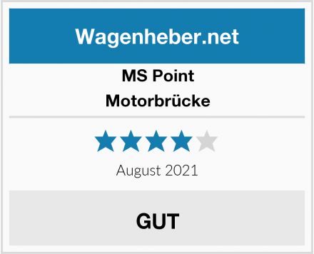MS Point Motorbrücke Test