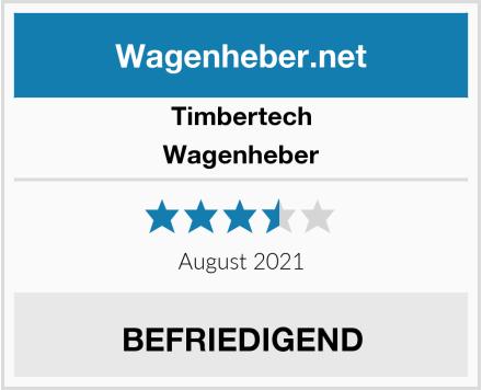 Timbertech Wagenheber Test