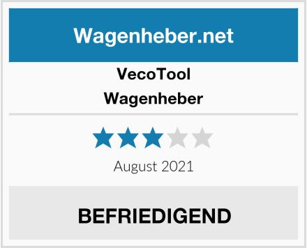 Veco Tool Wagenheber Test