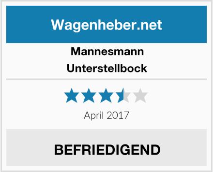 Mannesmann Unterstellbock Test