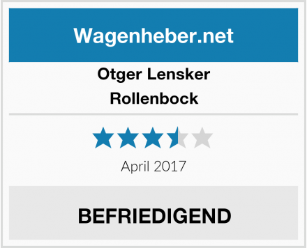 Otger Lensker Rollenbock Test