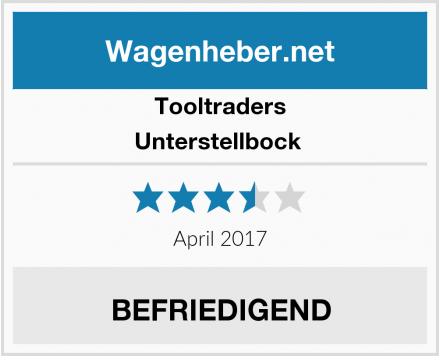 Tooltraders Unterstellbock  Test