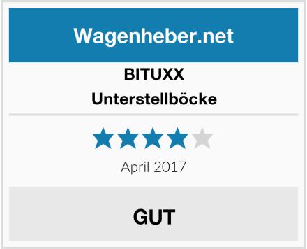BITUXX Unterstellböcke Test