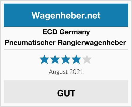 ECD Germany Pneumatischer Rangierwagenheber  Test