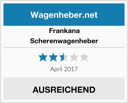 Frankana Scherenwagenheber Test