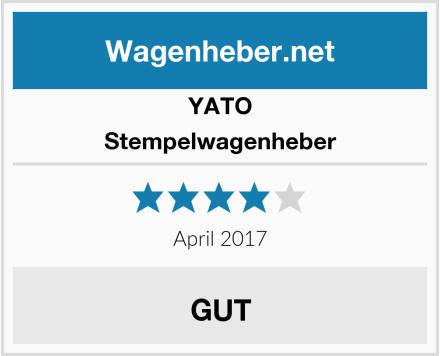 Yato Stempelwagenheber Test