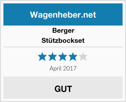 Berger Stützbockset Test