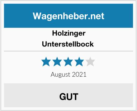 Holzinger Unterstellbock  Test