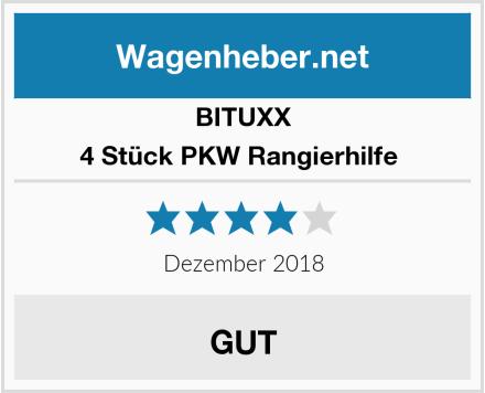 BITUXX 4 Stück PKW Rangierhilfe  Test