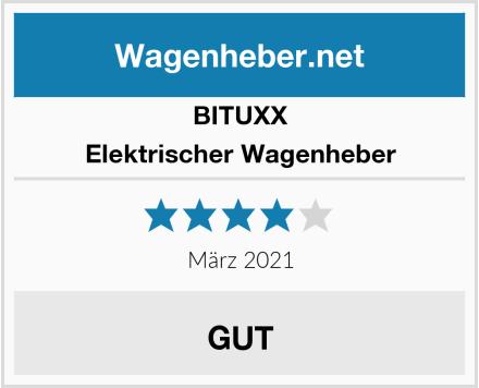 BITUXX Elektrischer Wagenheber  Test