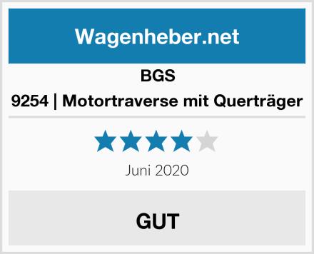 BGS 9254   Motortraverse mit Querträger Test