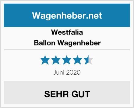 Westfalia Ballon Wagenheber Test