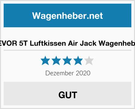 VEVOR 5T Luftkissen Air Jack Wagenheber Test