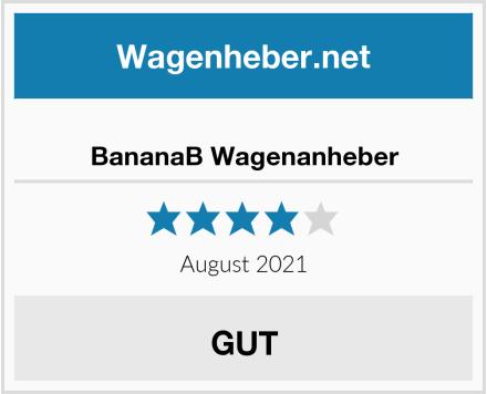 BananaB Wagenanheber Test