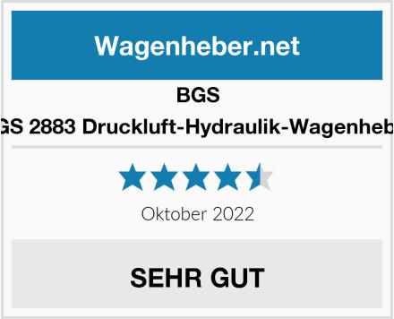 BGS 2883 Druckluft-Hydraulik-Wagenheber Test