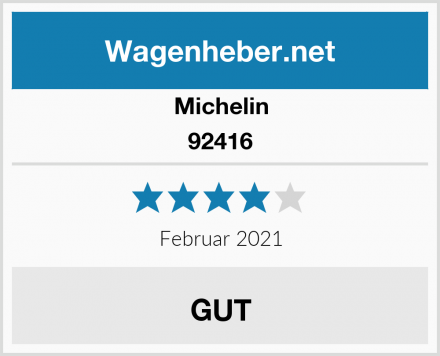 Michelin 92416 Test
