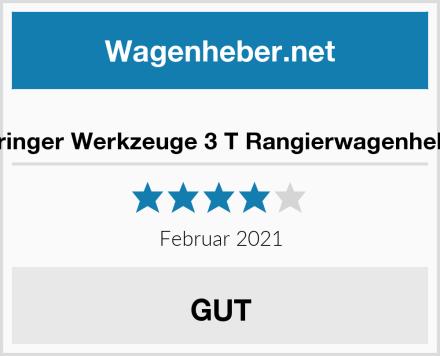 Springer Werkzeuge 3 T Rangierwagenheber Test