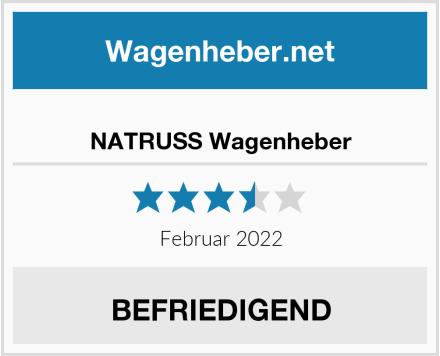 NATRUSS Wagenheber Test