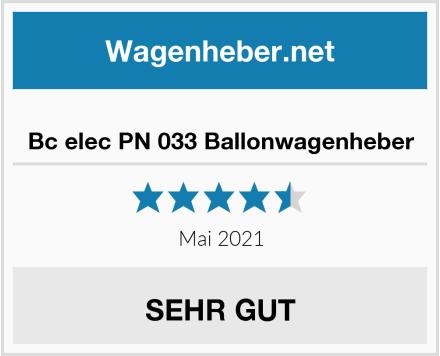 Bc elec PN 033 Ballonwagenheber Test