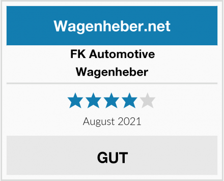 FK Automotive Wagenheber Test