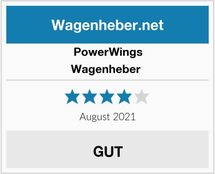 PowerWings Wagenheber  Test
