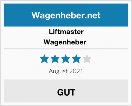 Liftmaster Wagenheber  Test