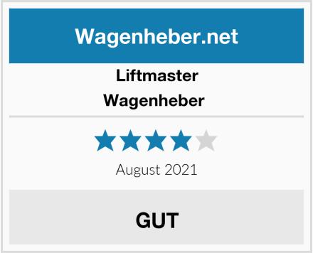 Liftmaster Wagenheber  Test