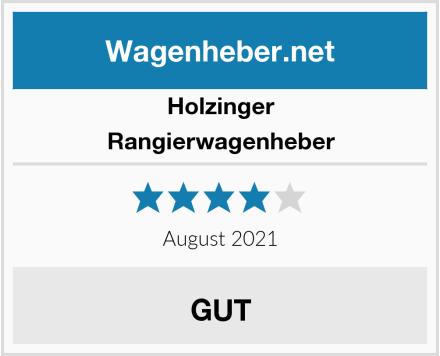 Holzinger Rangierwagenheber Test