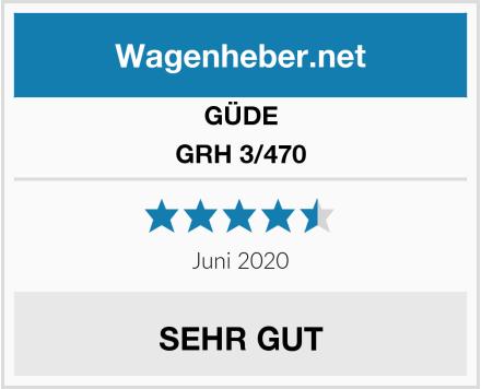 GÜDE GRH 3/470 Test