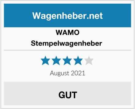 WAMO Stempelwagenheber  Test