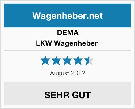 DEMA LKW Wagenheber  Test