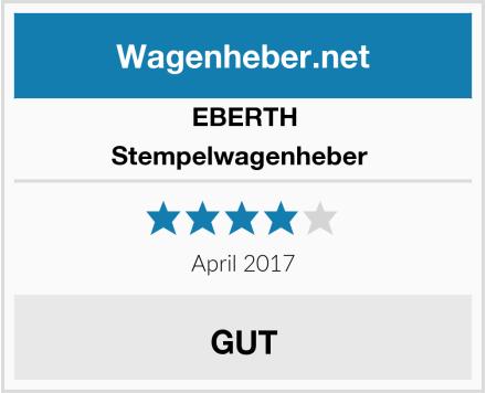 EBERTH Stempelwagenheber  Test